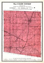 Adams Township, Ripley and Franklin Counties 1921